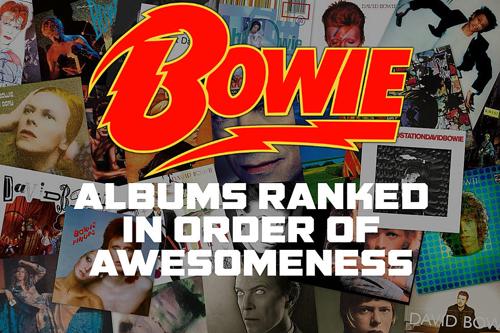 David Bowie Albums Ranked in Order of Awesomeness