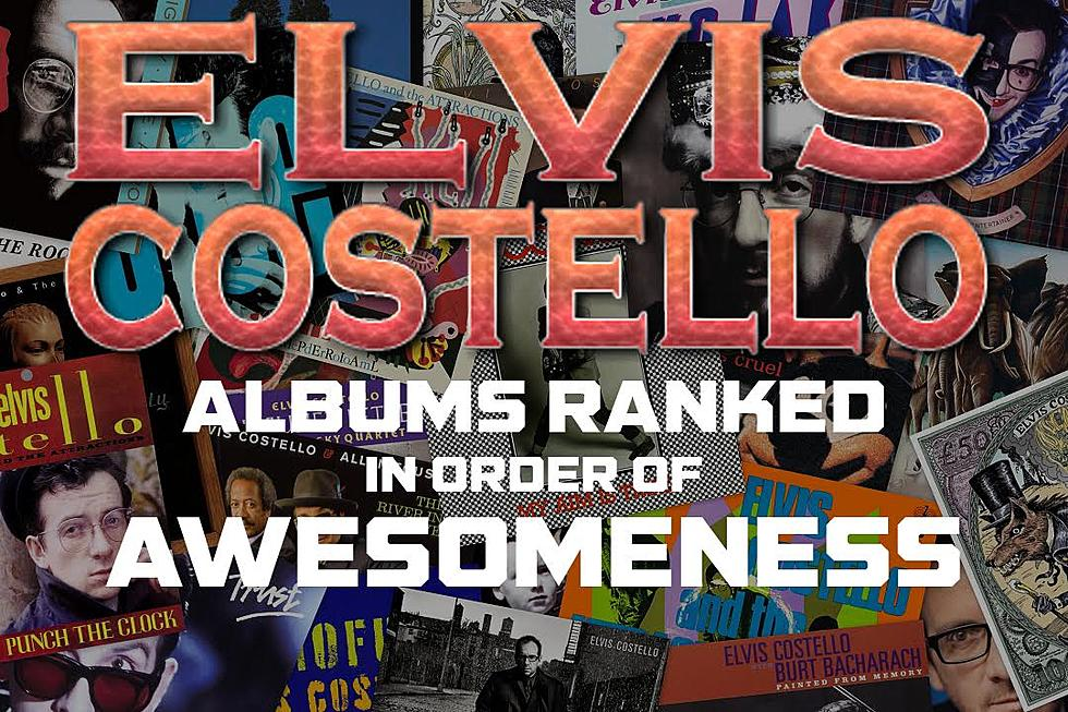 Elvis Costello Albums Ranked in Order of Awesomeness