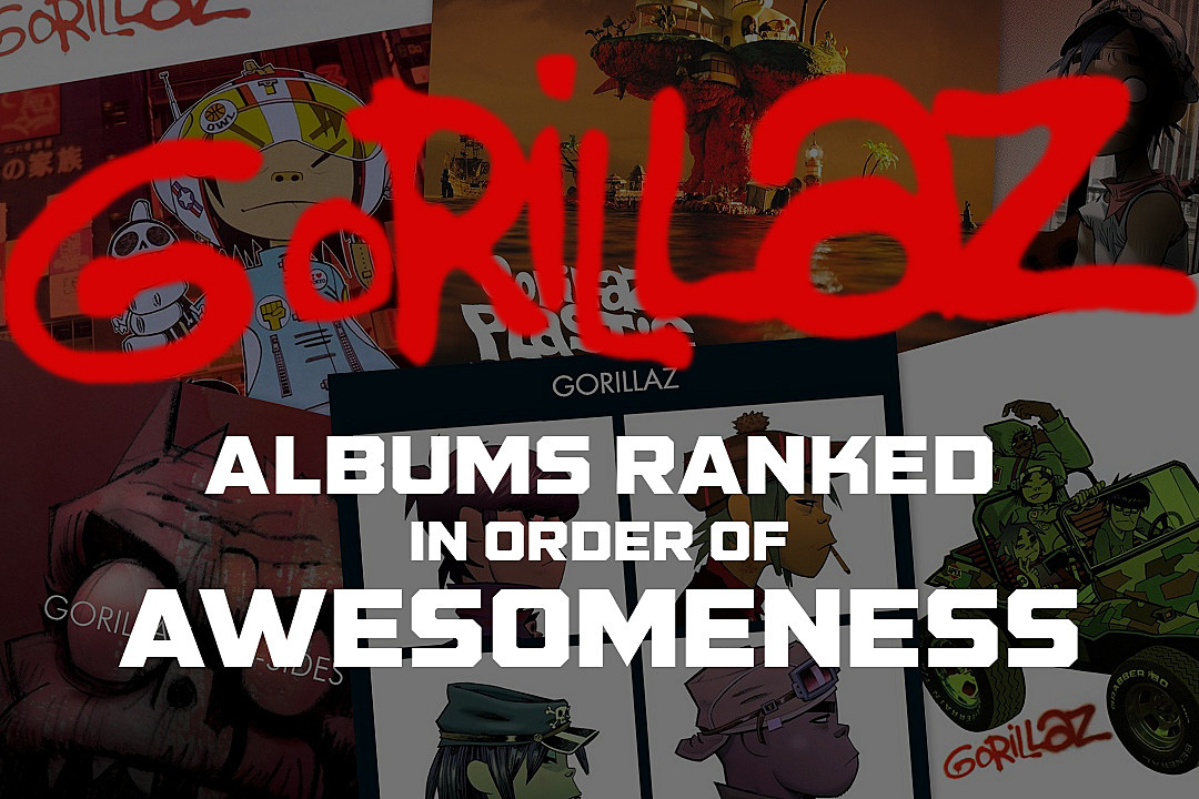 Gorillaz Albums Ranked in Order of Awesomeness
