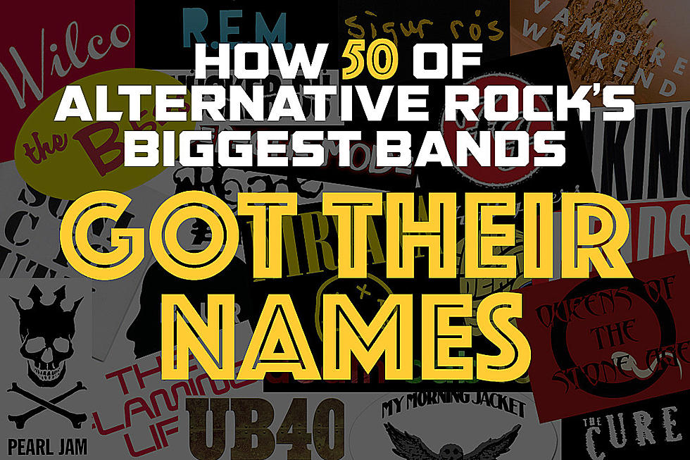 How 50 of Alternative Rock's Biggest Bands Got Their Names