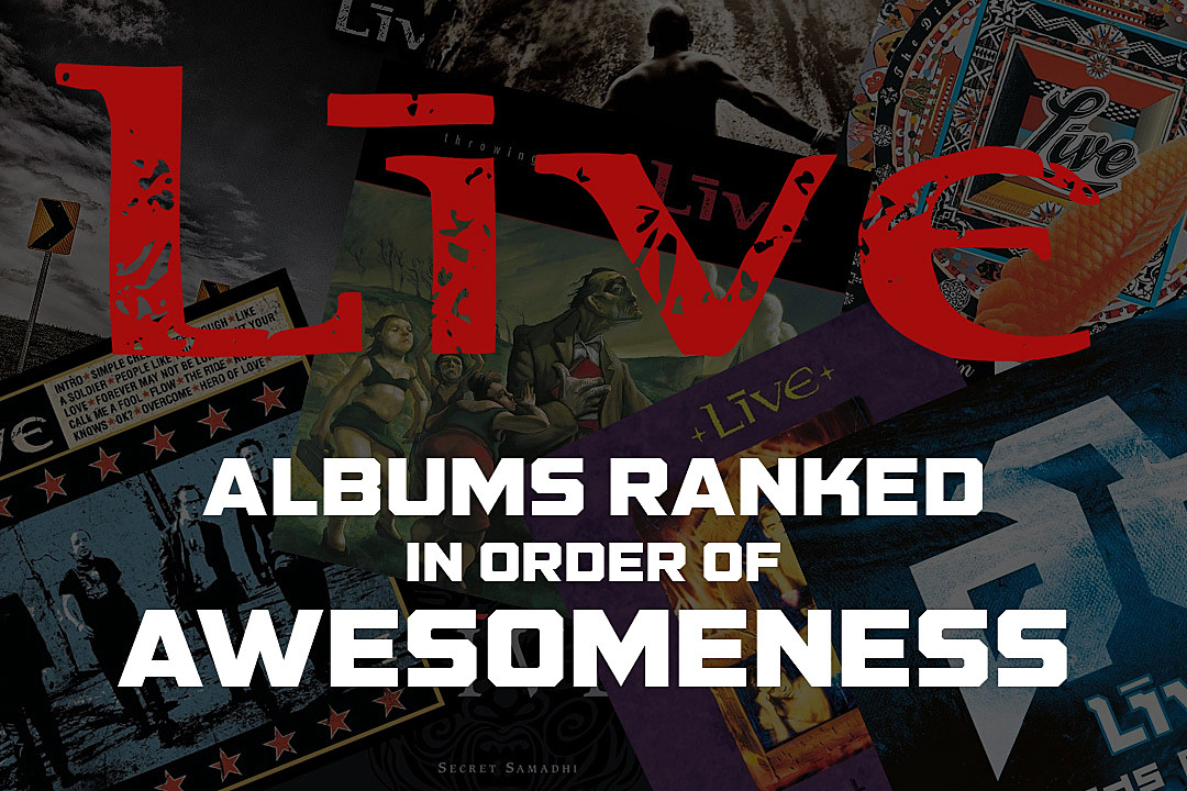 Live Albums Ranked in Order of Awesomeness