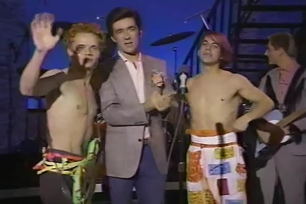 Watch the Red Hot Chili Peppers' First TV Appearance on Alan