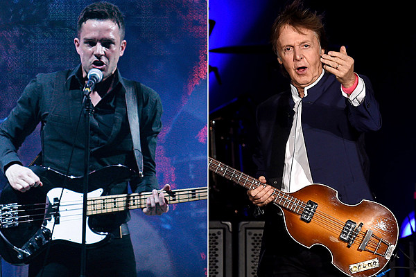 Watch Paul Mccartney Sit In With The Killers On New Year S Eve