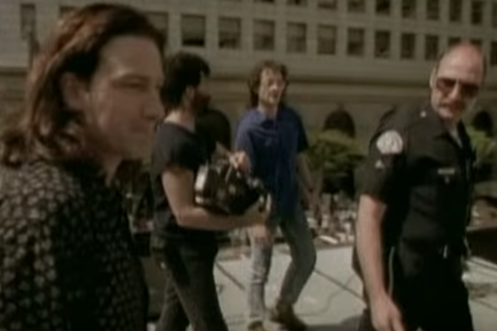 30 Years Ago: U2 (Briefly) Take Over an L A  Street for the