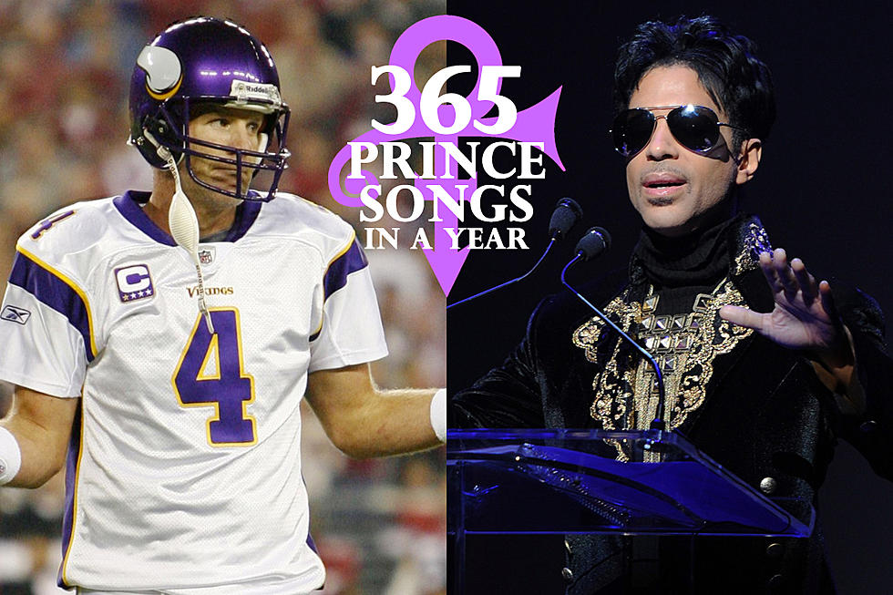 check out a23a8 0c597 Prince Jinxes His Minnesota Vikings With 'Purple and Gold ...
