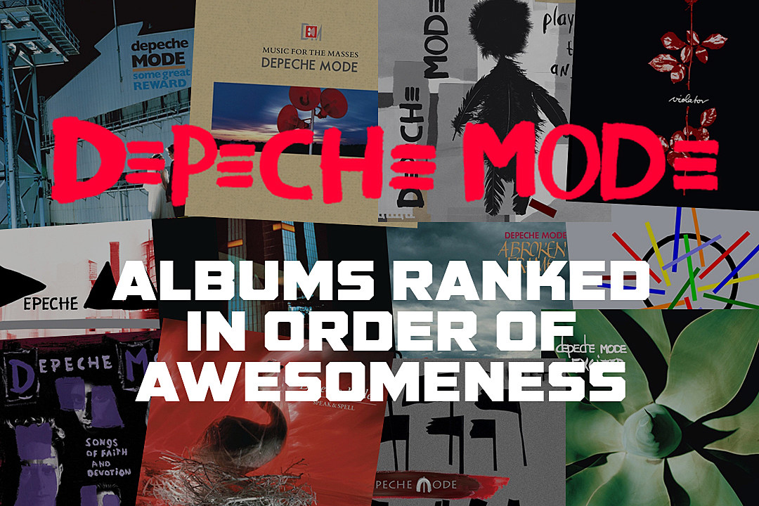 331b0b11df7d5 Depeche Mode Albums Ranked in Order of Awesomeness