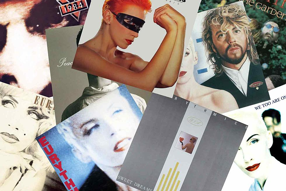 Eurythmics Albums Ranked in Order of Awesomeness