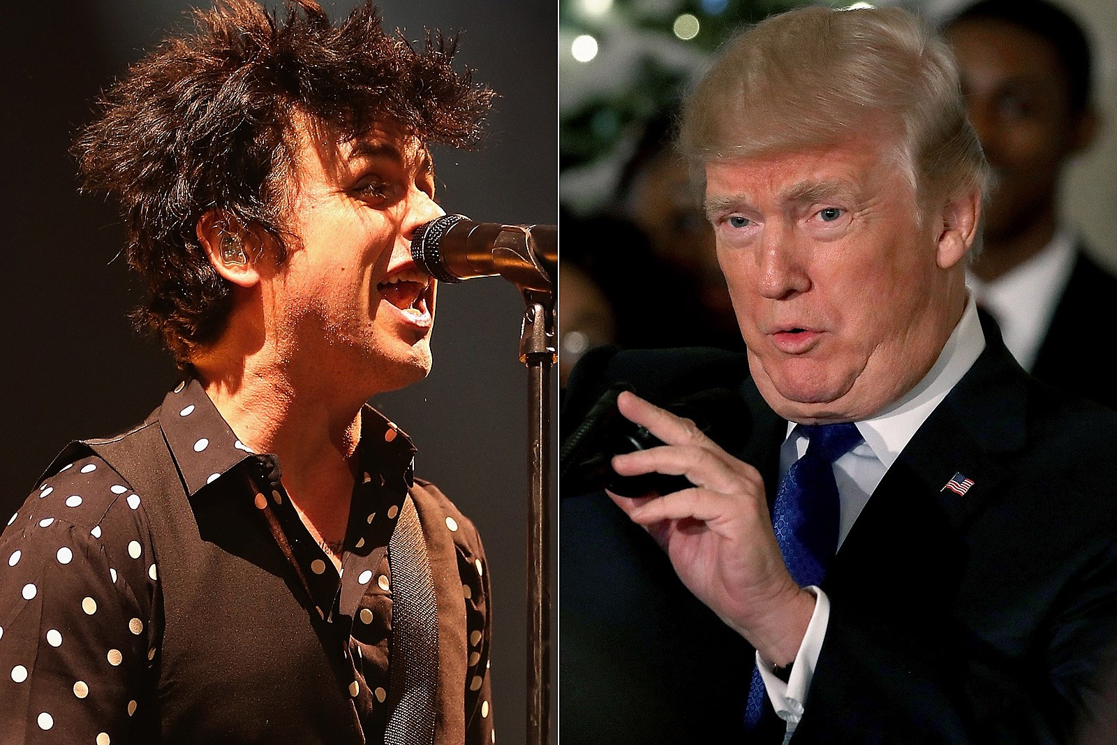 Don T Listen To My F Ing Records Green Day Star To Trump Fans