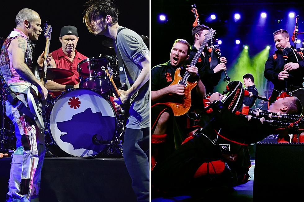 Bagpipes Get in the Way of Romantic Red Hot Chili Peppers