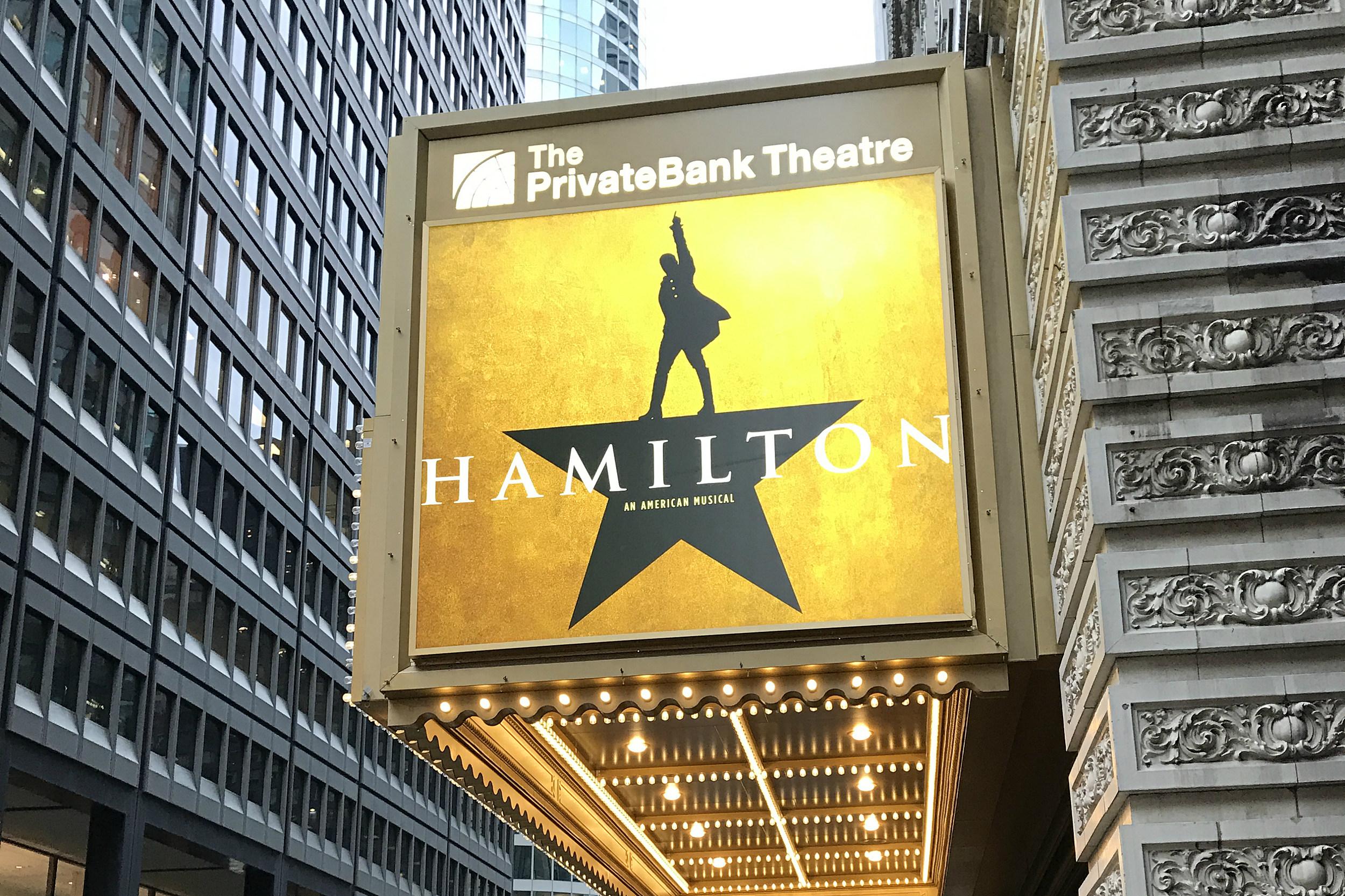 Hamilton' Chicago vs  the Broadway Recording