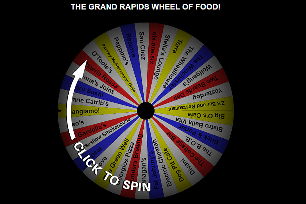 Where Should You Eat Today? Spin the Grand Rapids Wheel of Food!
