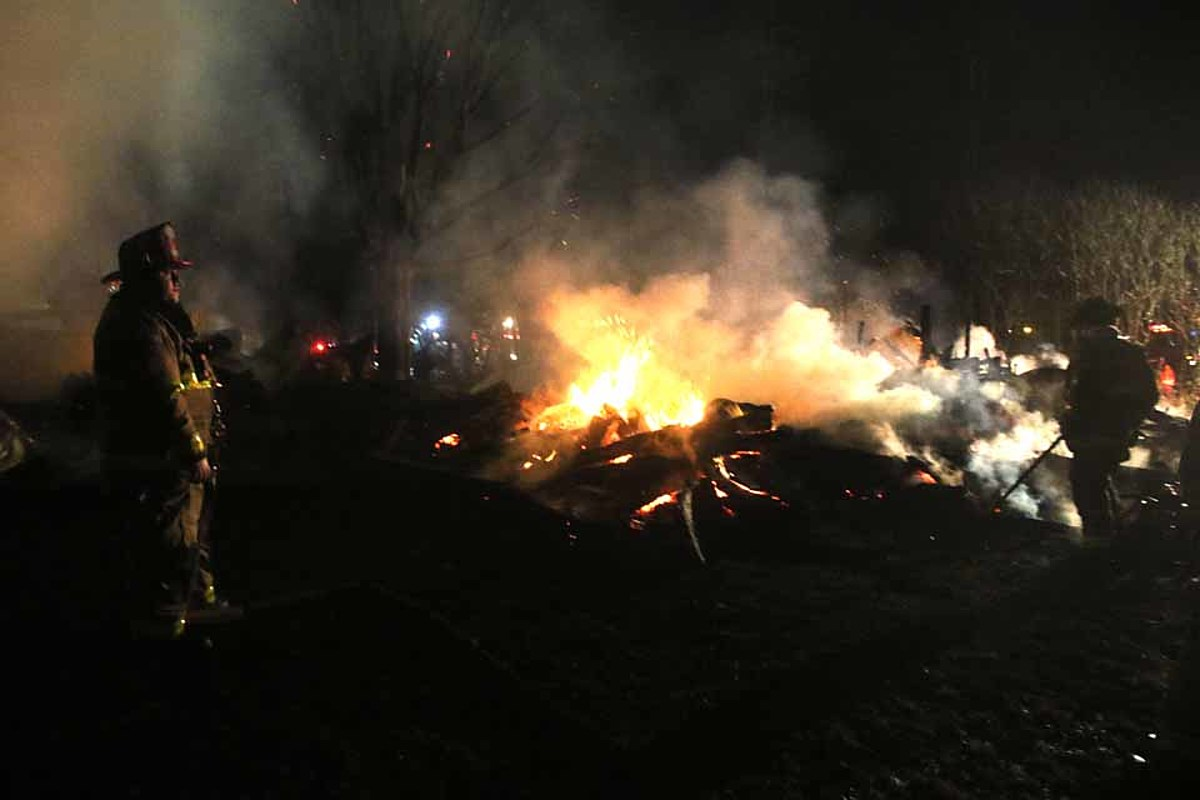 Woodbull Antiques Owner Loses Storage Barn to Fire