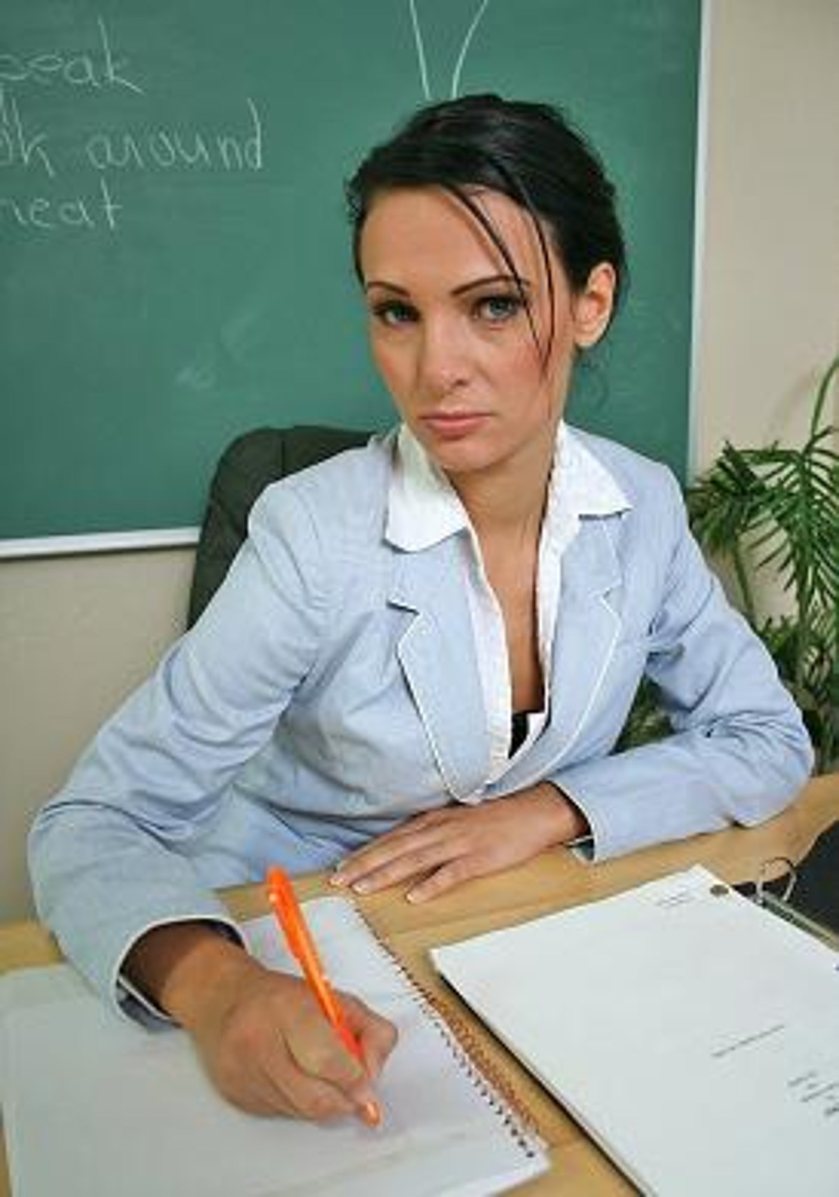 High School Female Teacher