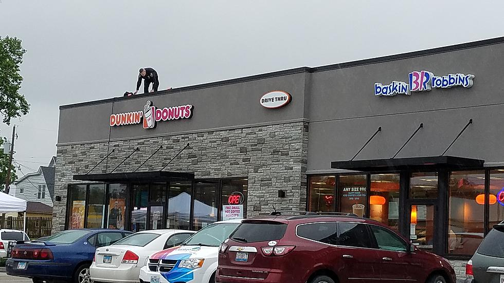 Q P D On Dunkin Doughnuts Rooftop For Special Olympics Friday