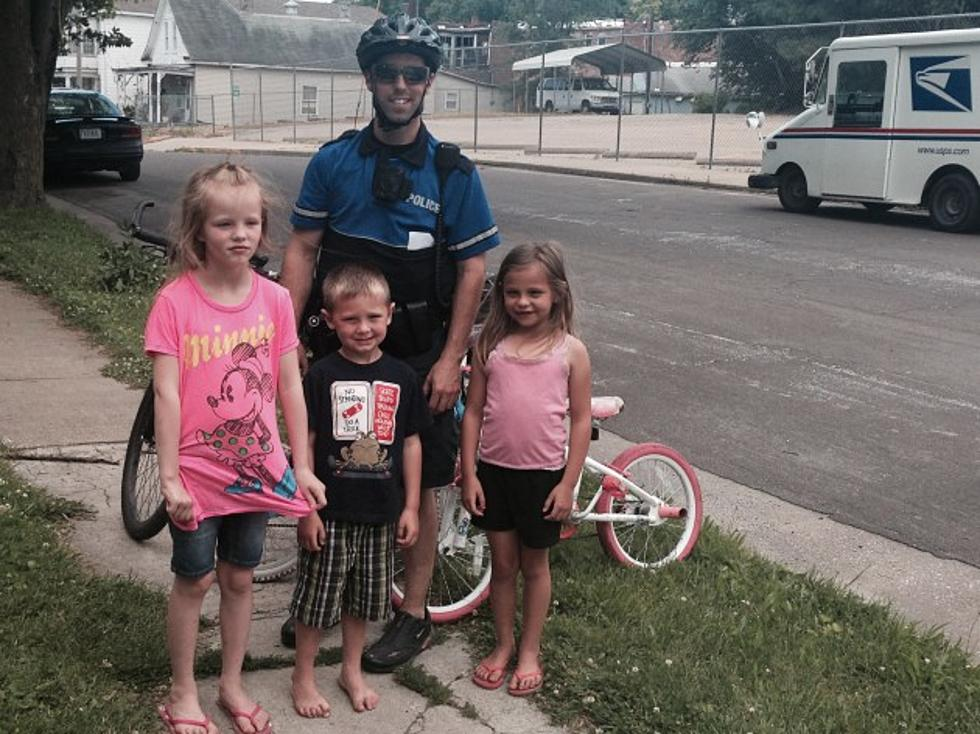 Hannibal Police Officers Participating in Youth Outreach Program