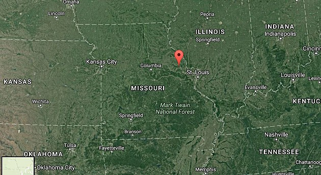 Far West Missouri Map.Missouri S Smallest Town Is Really Really Small