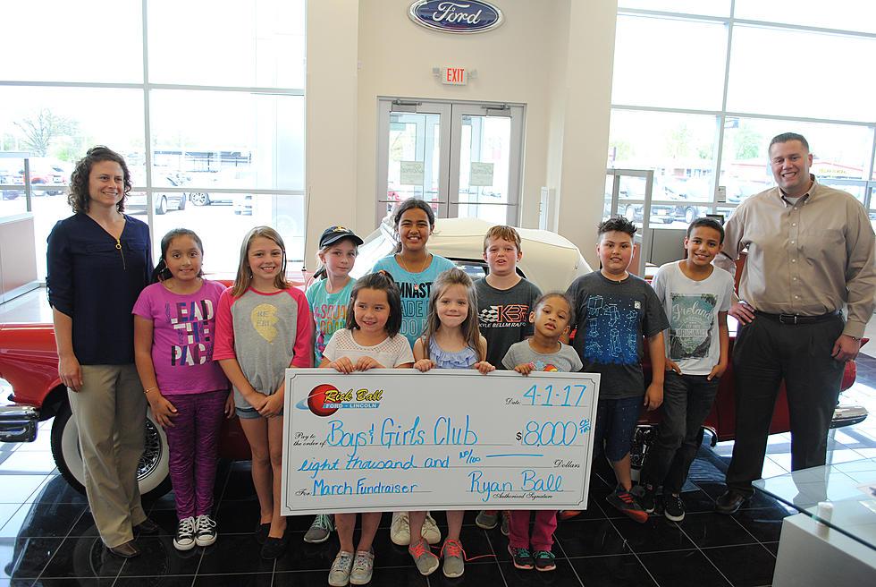Rick Ball Ford >> Rick Ball Ford Donates 8000 To Boys And Girls Club