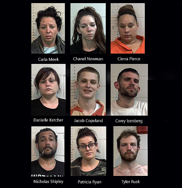 Kendal Brown, Ten Other Sedalians Arrested