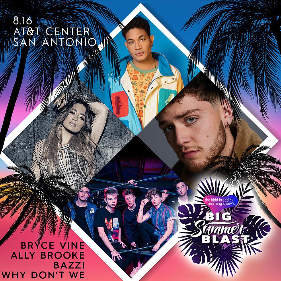 Kidd Kraddick Morning Show Brings Big Summer Blast Show to Texas