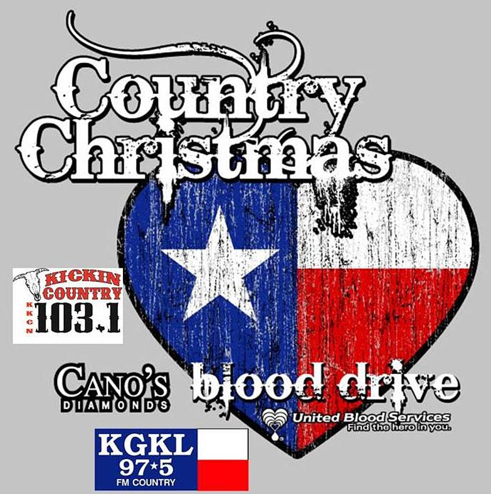 Christmas Blood Drive.Kgkl Country Christmas Blood Drive