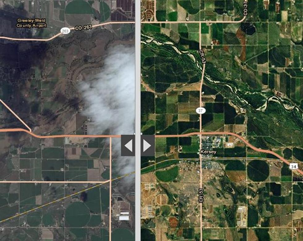 Satellite Imagery Shows Extent Of Flooding In Weld County