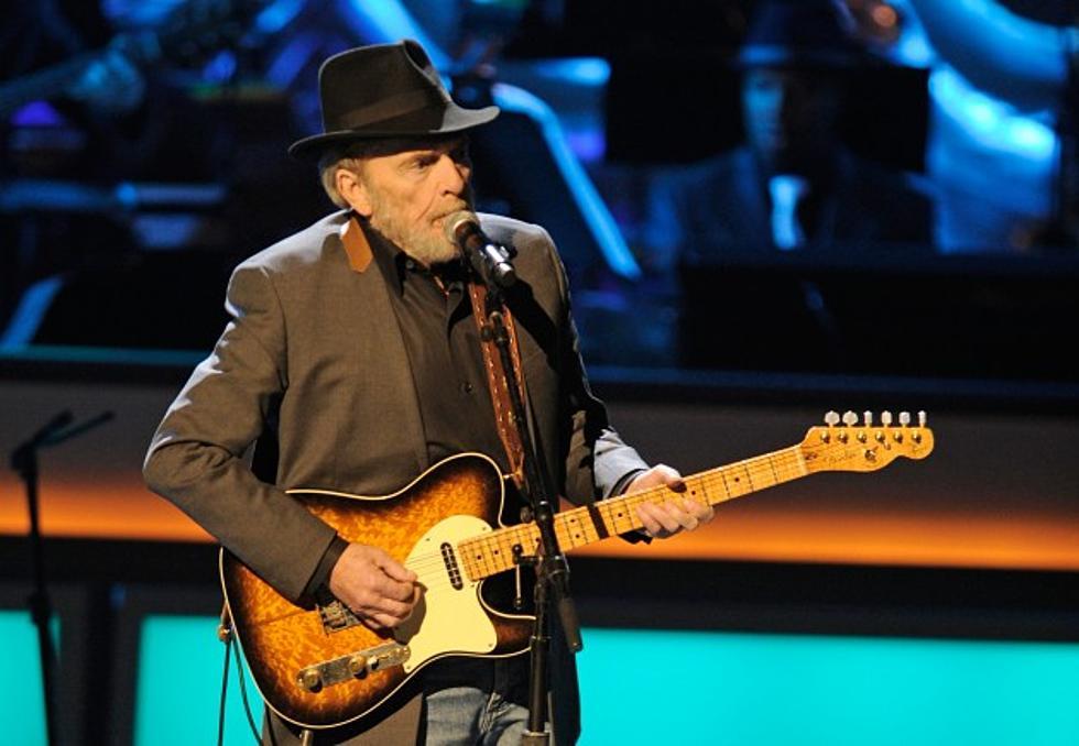 Merle Haggard sings 'Goodbye Lefty'