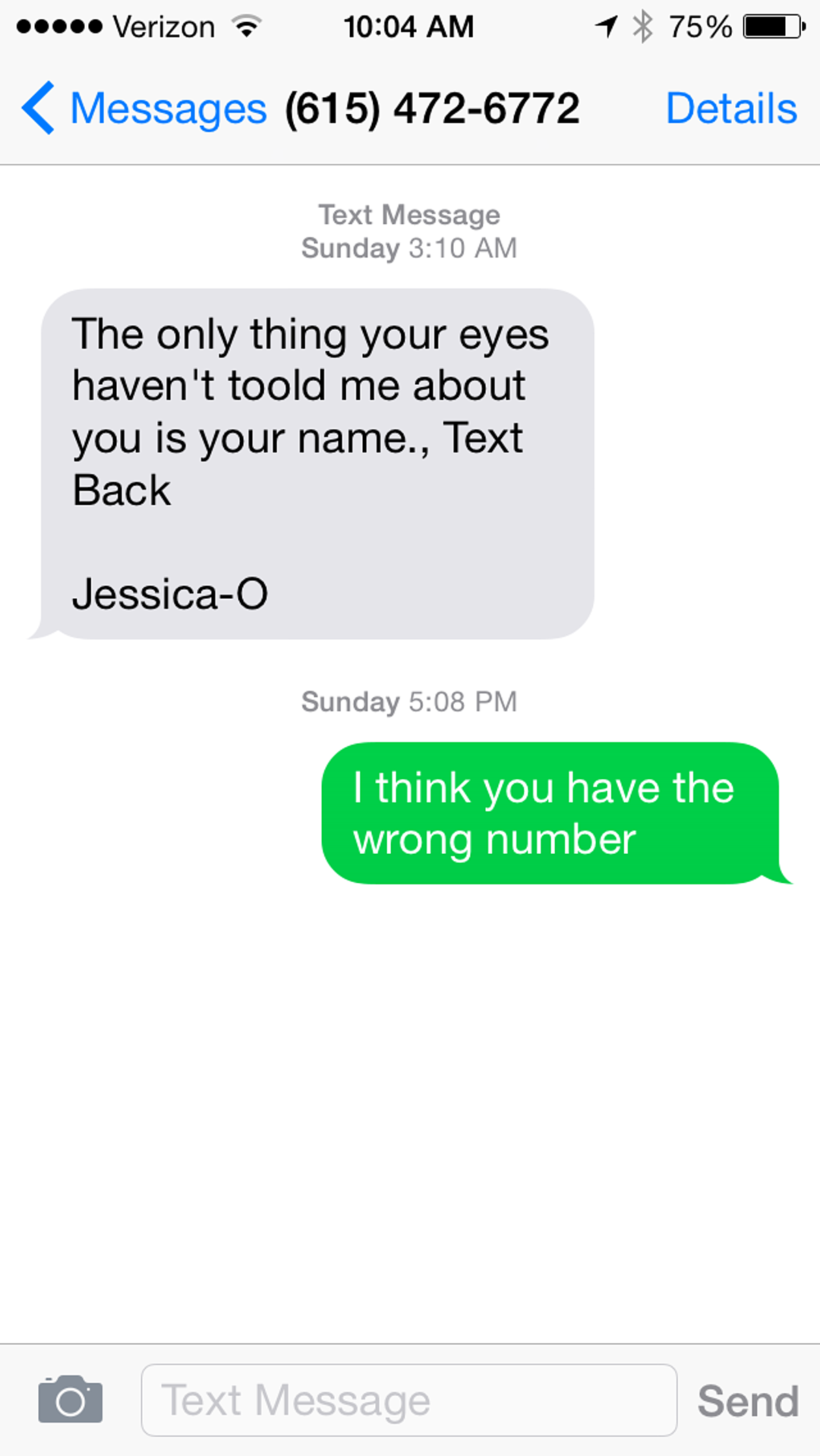 Chat up lines text Chat Up