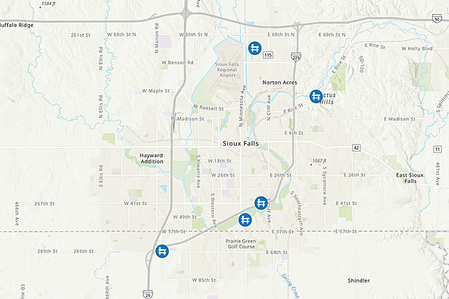 Sioux Falls Flooding Causes Street Closures