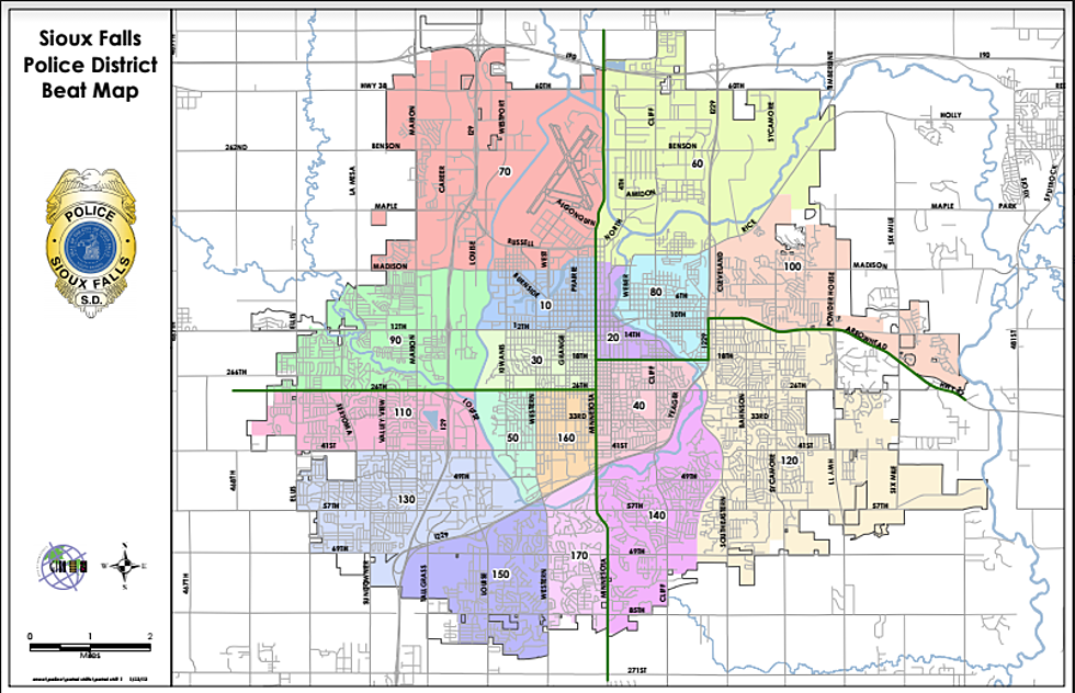 Sioux Falls Police Responds to Amendment S with a Beat Map