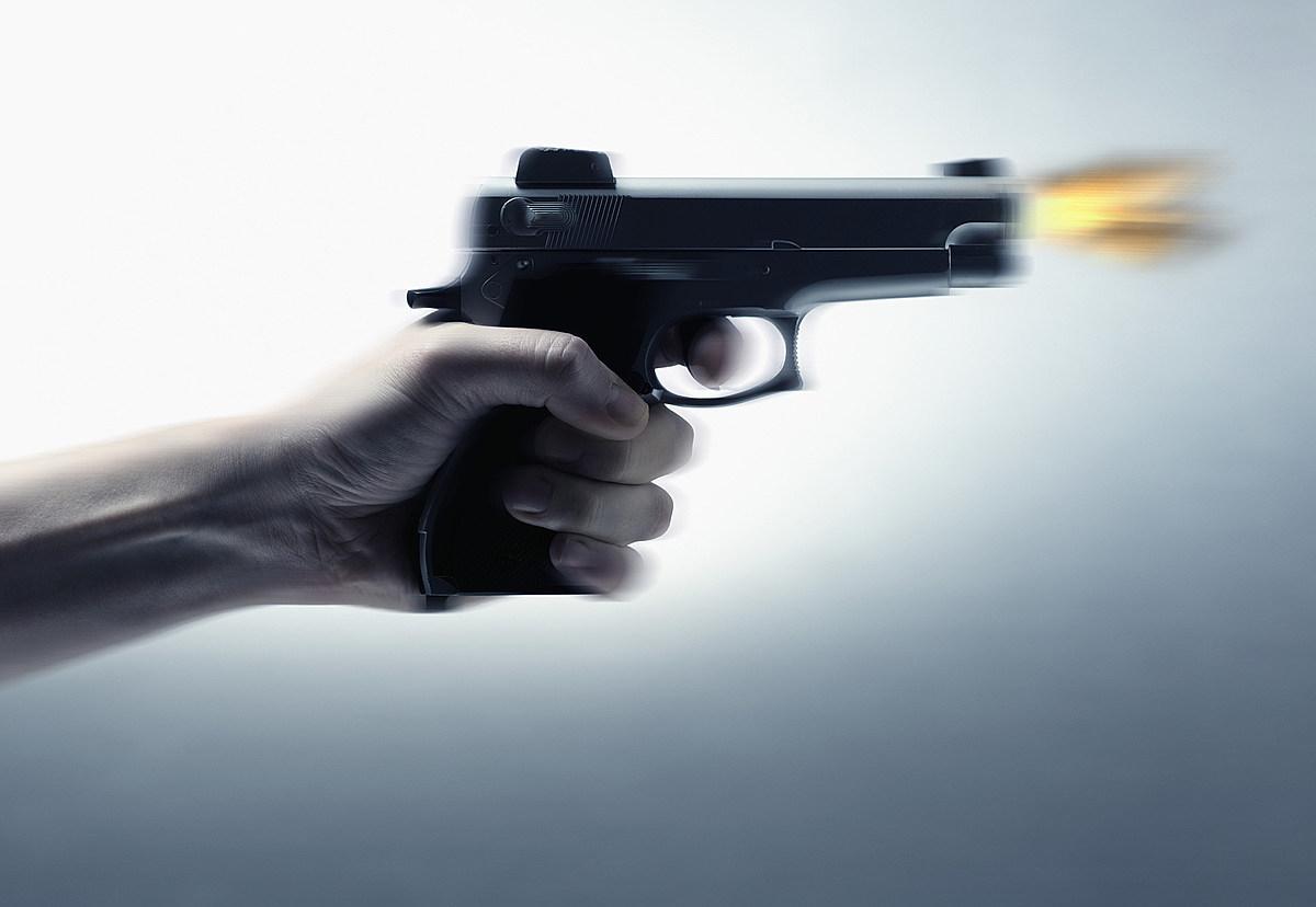 Стреляющий пистолет картинка
