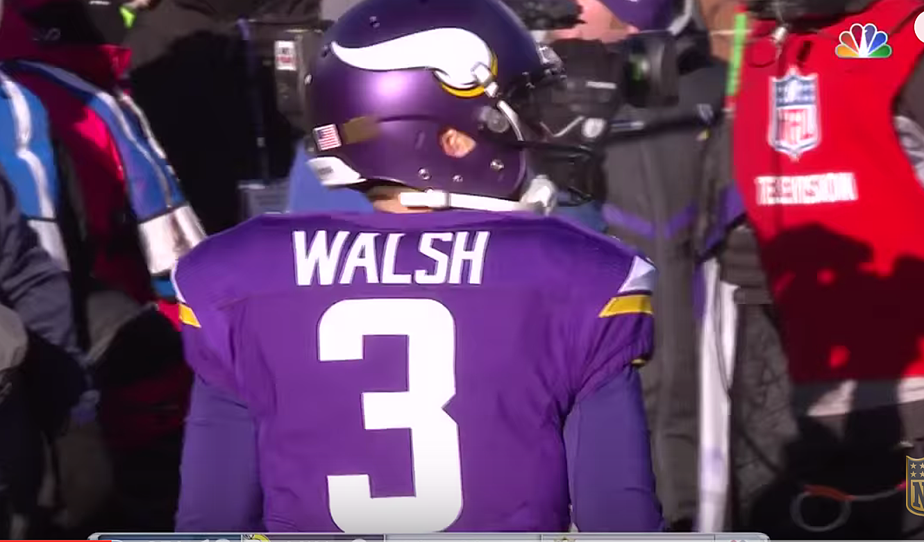 size 40 d6276 b38f1 Vikings Blair Walsh in the Locker Room After Missing Field Goal