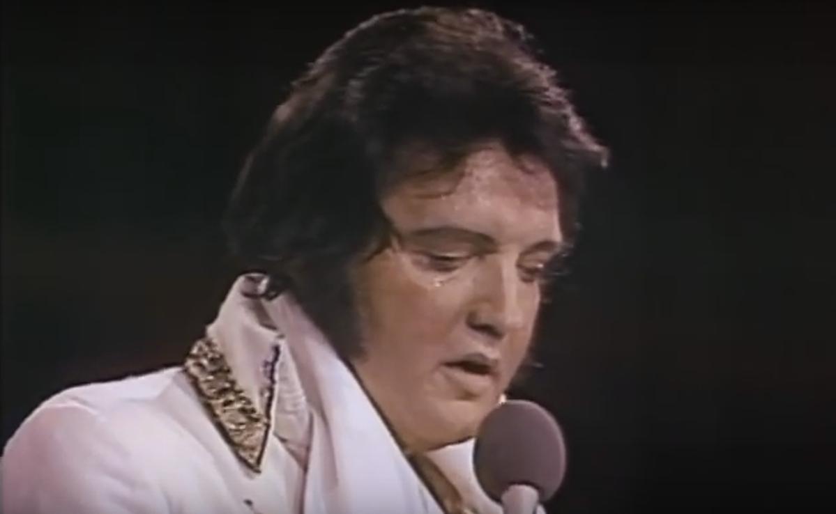 Watch The Last Time Elvis Presley Performed My Way In Sd