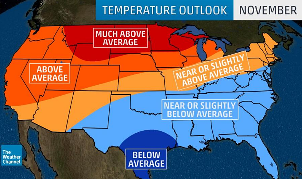 New Long-Range Forecast calls for Much Warmer Winter