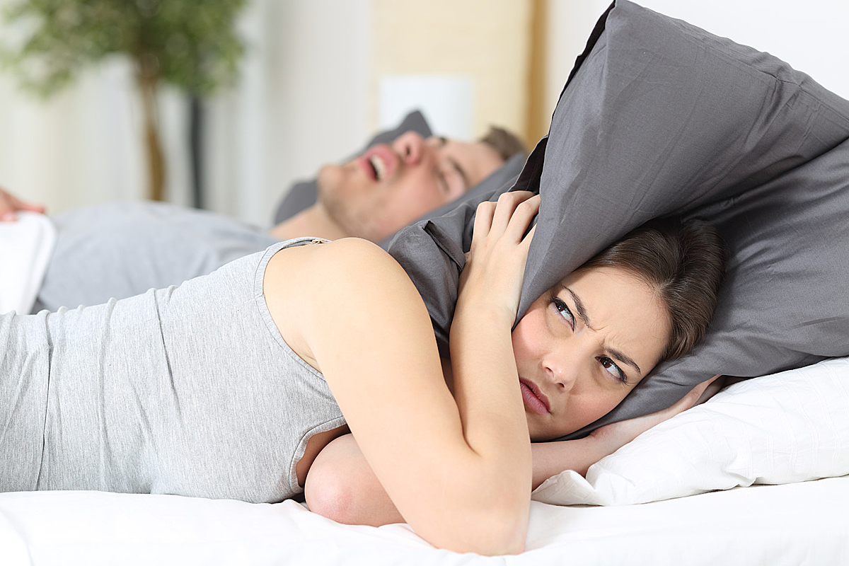 More Married Couples Are Sleeping Apart