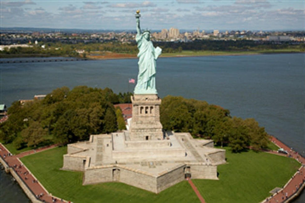 The Statue of Liberty Arrives In New York June 17, 1885