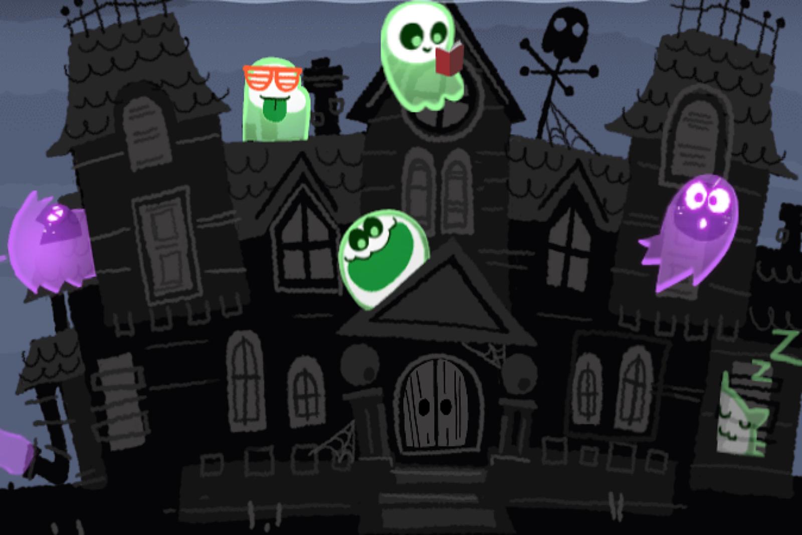 Halloween Games 2018.Google S Halloween Game
