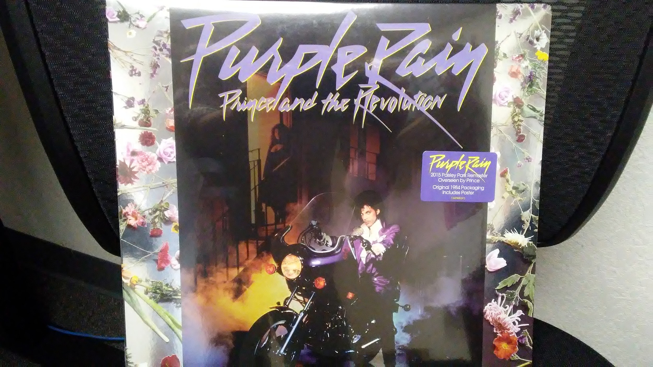Win a Vinyl Copy of 'Purple Rain' and a Purple Portable Turntable