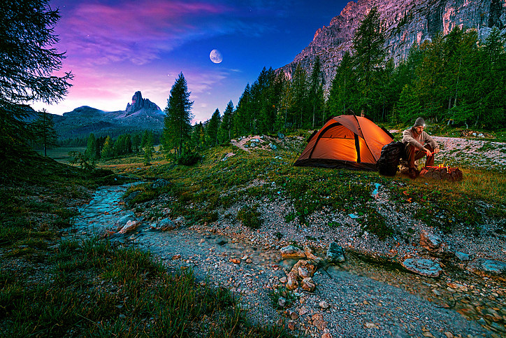 tent camping around denver co