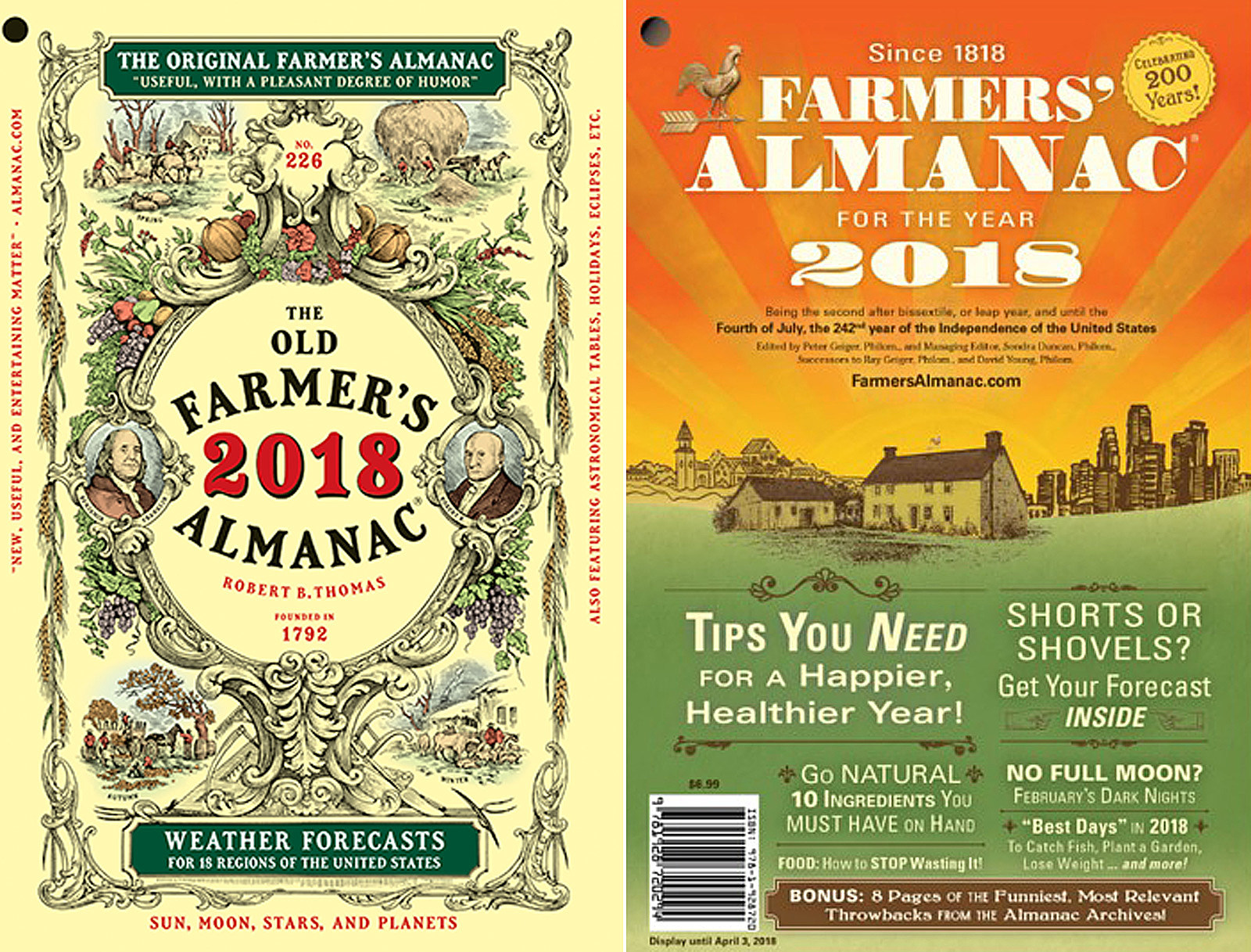 What S The Difference Between Old And New Farmer Almanac