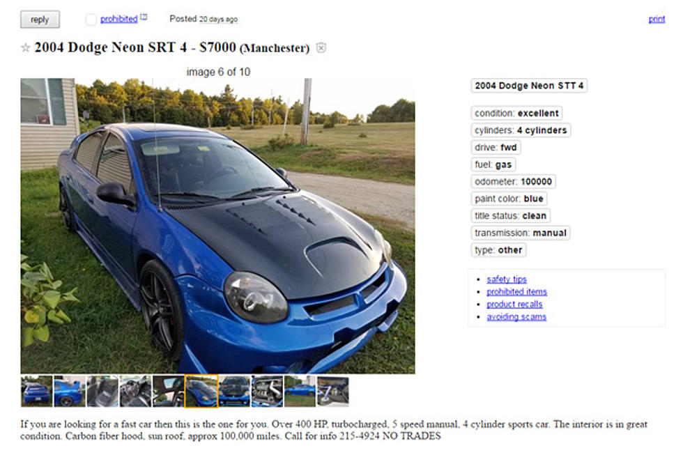 The Car That (Allegedly) Went 146 mph On I-95 Is For Sale [PHOTOS]