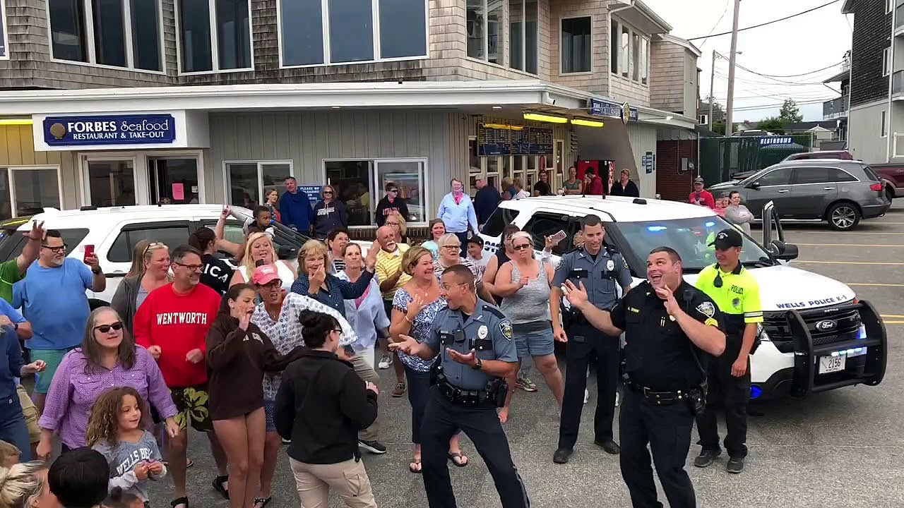 The Wells Police Department 'Lip Sync Challenge' [VIDEO]