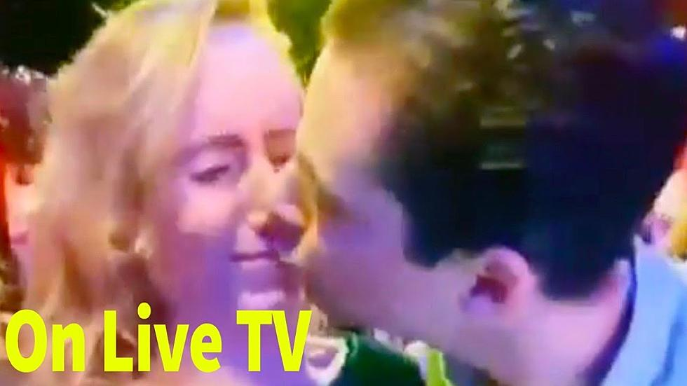 Guy Gets Put In 'Friend Zone' With NYE Kiss Attempt [VIDEO]