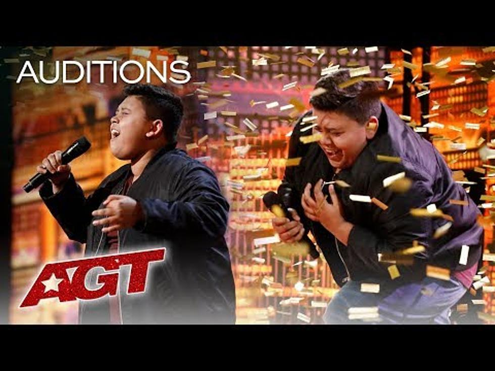 Final Golden Buzzer from the Audition Round on America's Got