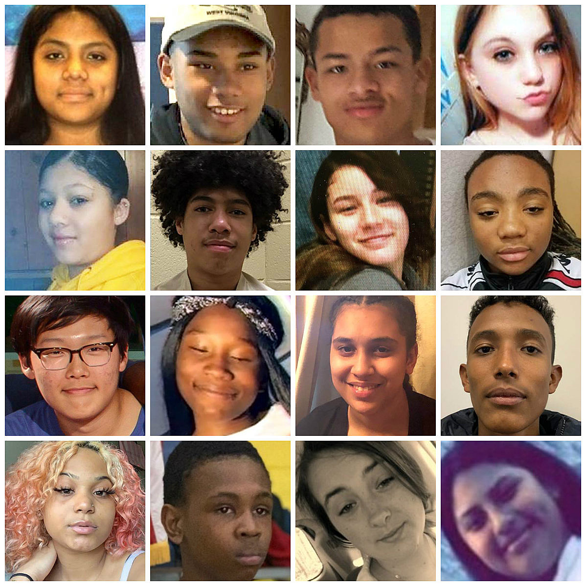recent missing kids - HD 1200×1200