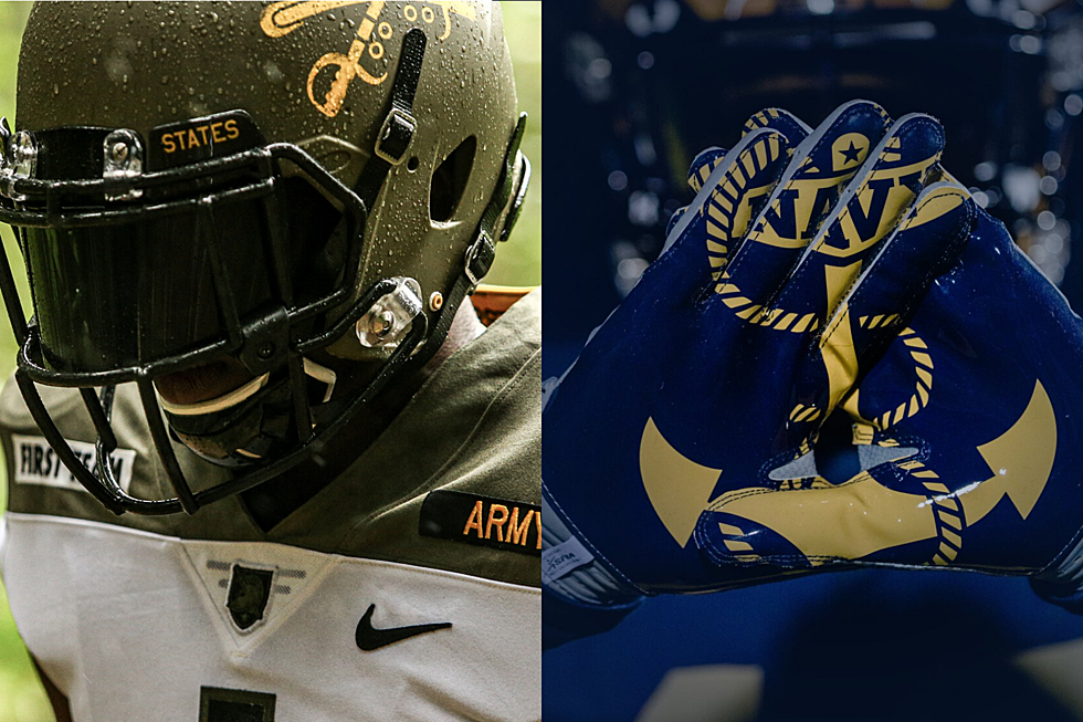 Classy New Unis Unveiled For Army Navy Game Video