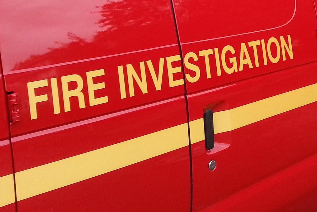 wnbf.com: State Police: 87-Year-Old Bainbridge Man Died in Garage Fire