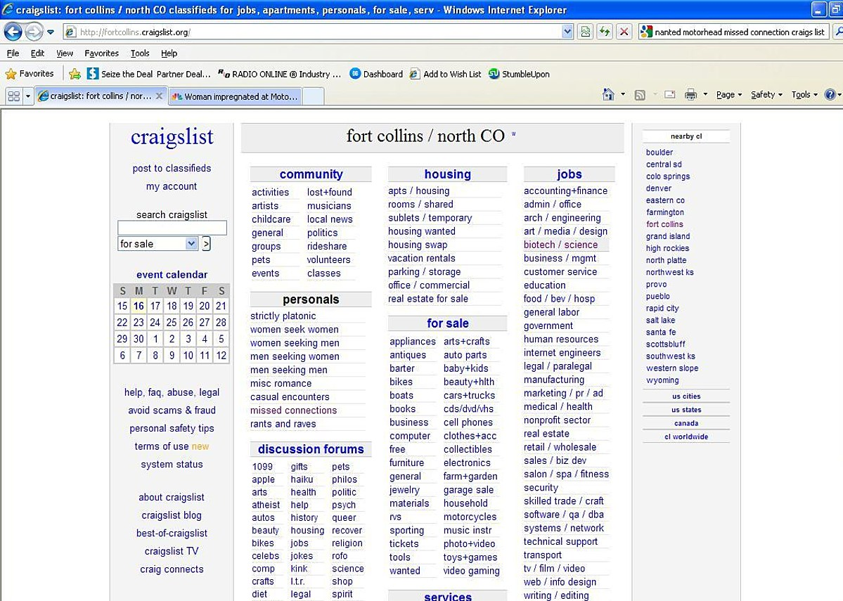 Craigslist Fort Collins Would You Ever Use The Missed