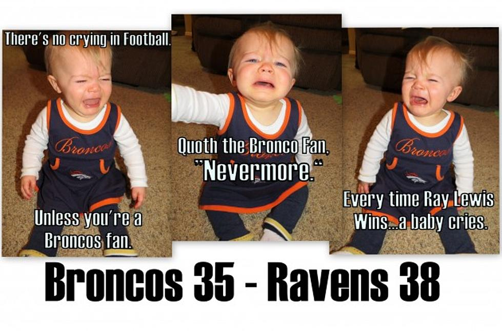 Baby Memes For Broncos Season Ending Loss To The Ravens