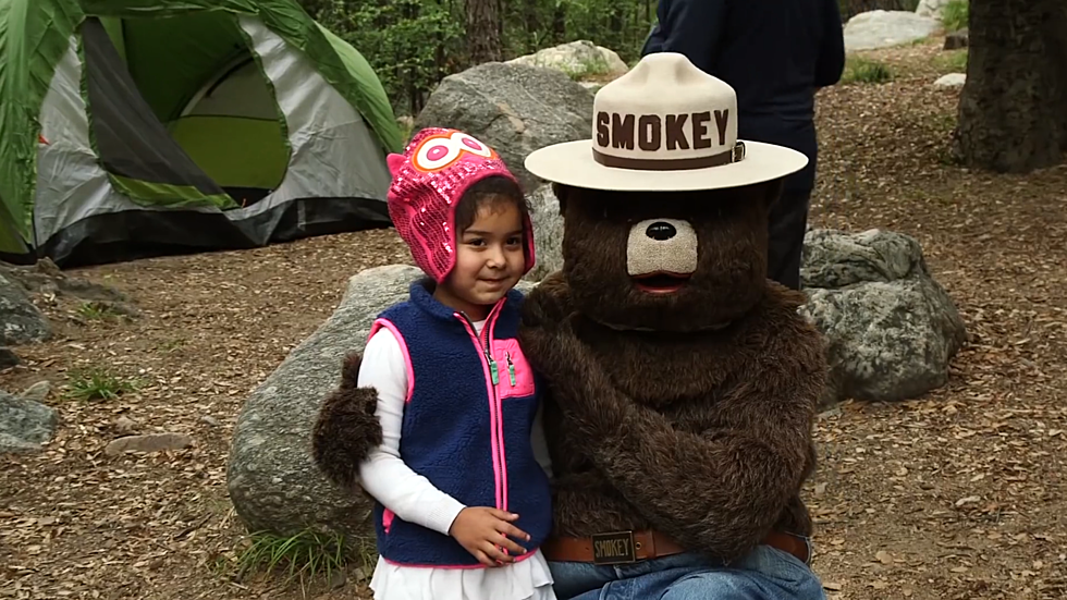 Meet Smokey Bear at Red Feather Lakes in December