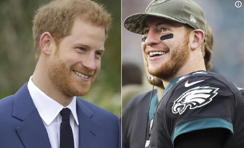 Carson Wentz Wedding.Twitter Has Jokes About Carson Wentz Being In The Royal Wedding